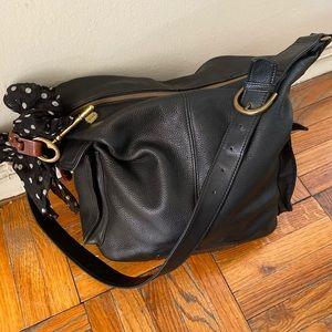 FOSSIL VNTG GORG HOBO Shoulder LEATHER Bag GUC